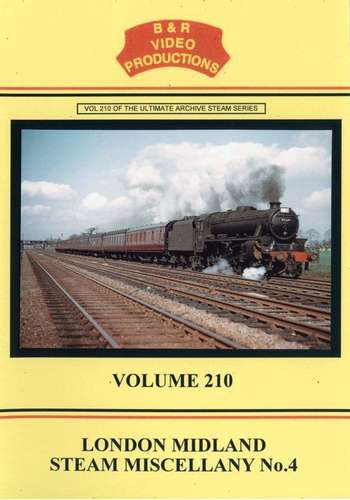London Midland Steam Miscellany No.4 - Volume 210