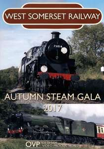 West Somerset Railway Autumn Steam Gala 2017