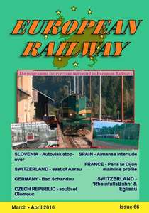 European Railway - Issue 66 - March - April 2016