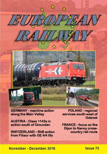 European Railway - Issue 70 - November - December 2016