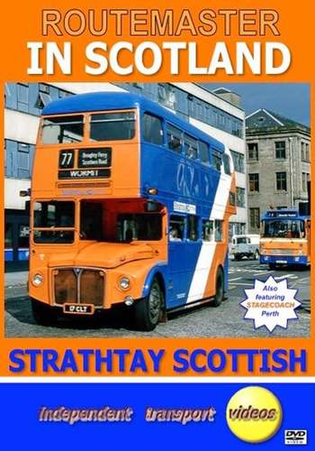 Routemaster in Scotland - Strathtay Scottish