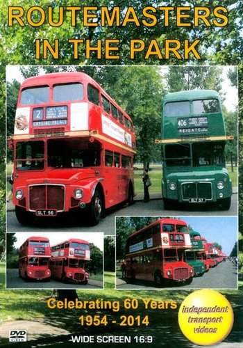 Routemasters in the Park - Celebrating 60 Years 1954 - 2014