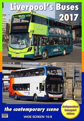Liverpools Buses 2017 - The Contemporary Scene