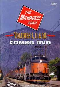 The Milwaukee Road 1970s Combo - Volumes 1  2 and 3