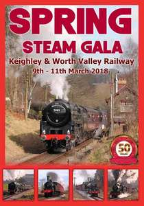 Keighley and Worth Valley Railway Spring Steam Gala 2018