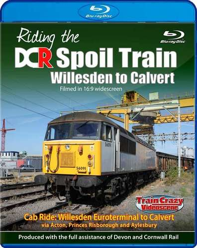 Riding the DCR Spoil Train - Willesden to Calvert - Blu-ray