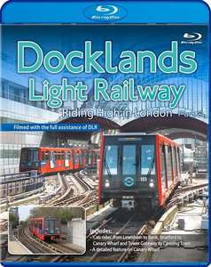 Docklands Light Railway - Riding High in London - Part 2 - Blu-ray