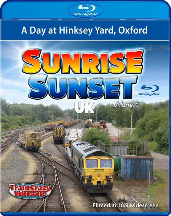 Sunrise Sunset - Volume 5 - A Day at Hinksey Yard - Blu-ray