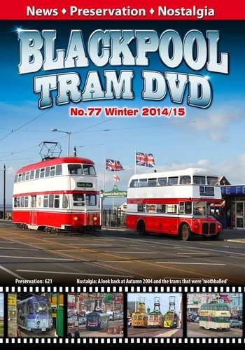 Blackpool Tram DVD 77 - Winter 2014-15