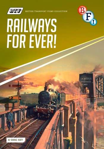 British Transport Films Collection Two - Railways for Ever - 6 disc set