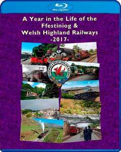 A Year in the Life of the Ffestiniog and Welsh Highland Railways - 2017 - Blu-ray
