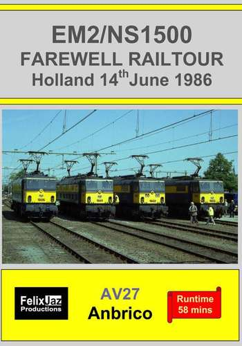 EM2/NS1500 Farewell Railtour Holland