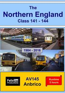 The Northern England Class 141 - 144.1984 - 2016  - 4 Disc Set