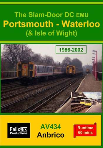 The Slam-door DC EMU Portsmouth - Waterloo and Isle of Wight