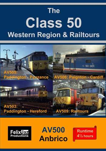 The Class 50 Western Region and Railtours