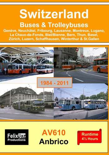 Switzerland Buses & Trolleybuses 1984 - 2011