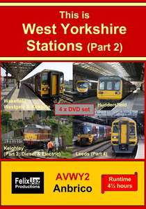 This is West Yorkshire Stations Part 2 - Four Disc Set