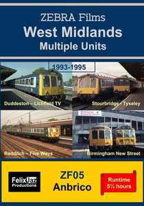 West Midlands Multiple Units 1993-1995 - 4 Disc Set