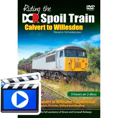 Riding the DCR Spoil Train - Calvert to Willesden
