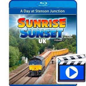 Sunrise Sunset UK Volume 7 - A Day at Stenson Junction (1080p HD)
