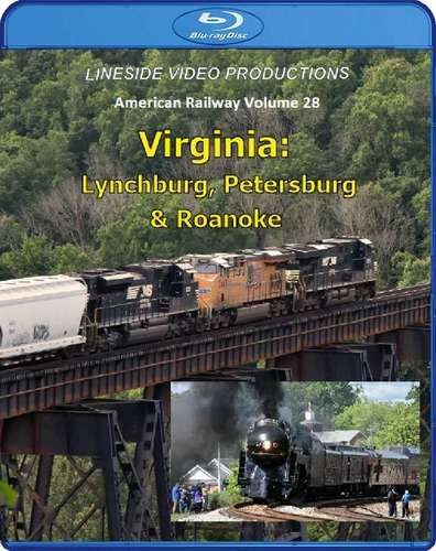 American Railway Volume 28: Virginia - Blu-ray