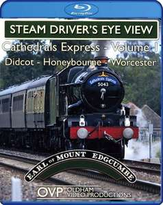 Steam Driver's Eye View - Cathedrals Express: Volume 1