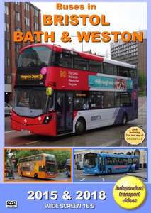 Buses in Bristol, Bath and Weston 2015 and 2018