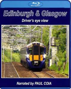 Edinburgh & Glasgow - Driver's Eye View. Blu-ray