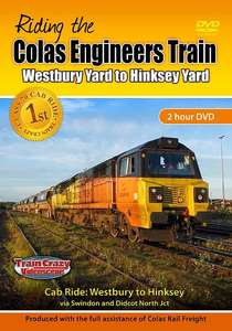 Riding the Colas Engineers Train