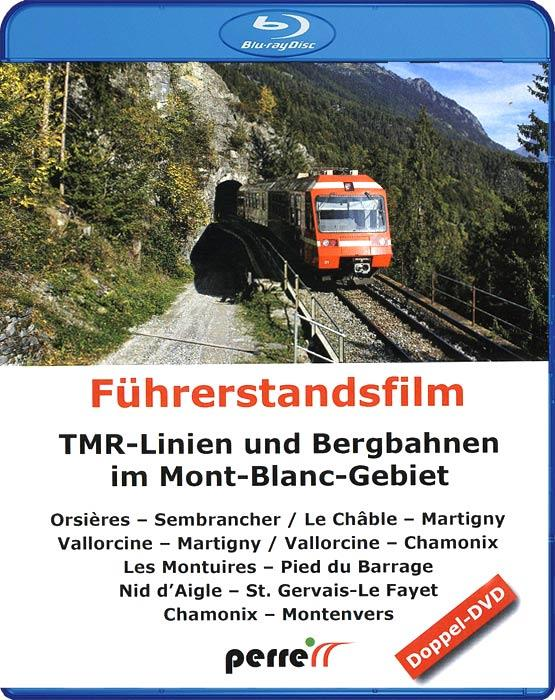 TMR Lines and Mountain Railways in the Mont Blanc Area. Blu-ray