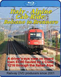 Italy - Alpine Cab-Ride: Bolzano to Brennero. Blu-ray