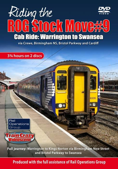 Riding the ROG Stock Move #9 - Cab Ride: Warrington to Swansea