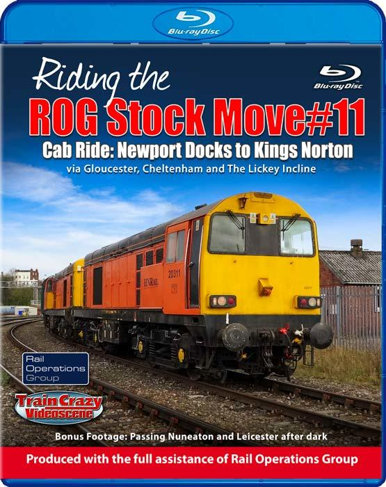 Riding the ROG Stock Move #11. Blu-ray