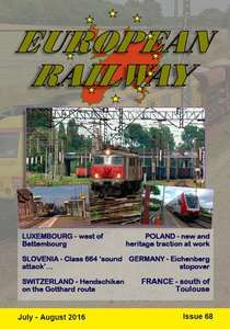 European Railway - Issue 68 - July - August 2016