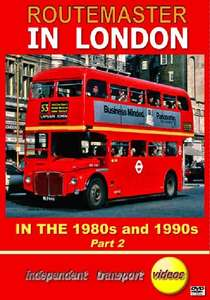 Routemaster in London in the 1980s and 1990s - Part 2