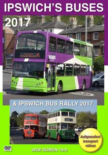Ipswich's Buses 2017 and Ipswich Bus Rally 2017