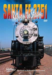 Santa Fe 3751 - Return to Steam