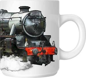 The Steam Mug Collection No6 - 45407 The Lancashire Fusilier