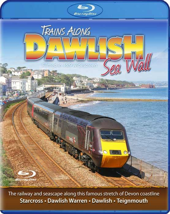 Trains Along Dawlish Sea Wall. Blu-ray