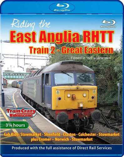 Riding the East Anglia RHTT Train 2 - Great Eastern - Blu-ray