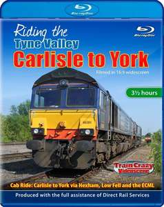 Riding the Tyne Valley: Carlisle to York. Blu-ray