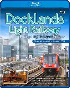 Docklands Light Railway - Riding High in London - Part 1 - Blu-ray