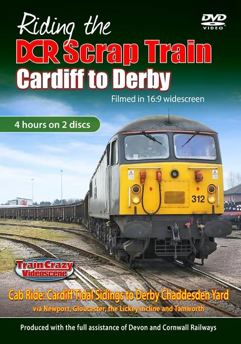 Riding the DCR Scrap Train - Cardiff to Derby