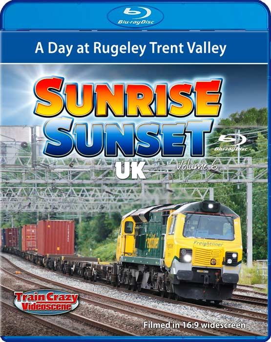 Sunrise Sunset UK Volume 6 - A Day at Rugeley Trent Valley - Blu-ray