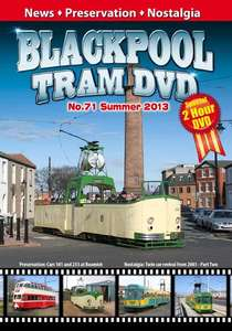 Blackpool Tram DVD 71 - Summer 2013