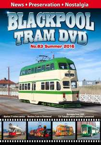 Blackpool Tram DVD No.83 - Summer 2016