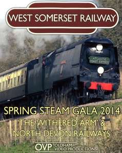 West Somerset Railway Spring Steam Gala 2014 - Withered Arm & North Devon Railways blu-ray