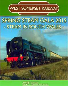 West Somerset Railway Spring Steam Gala 2015 - Steam in South Wales - Blu-ray