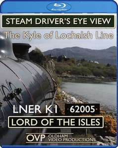 Steam Drivers Eye View - Kyle of Lochalsh Line - Blu-ray