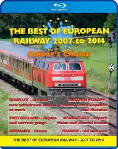 The Best of European Railway - 2007 to 2014 - Editors Choice - Blu-ray